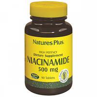 Ниацинамид Natures Plus Niacinamide 500 мг (90 таблеток)