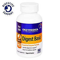 Пищеварительные Ферменты Формула Энзимов Enzymatic Therapy Digest Basic (90 капсул)