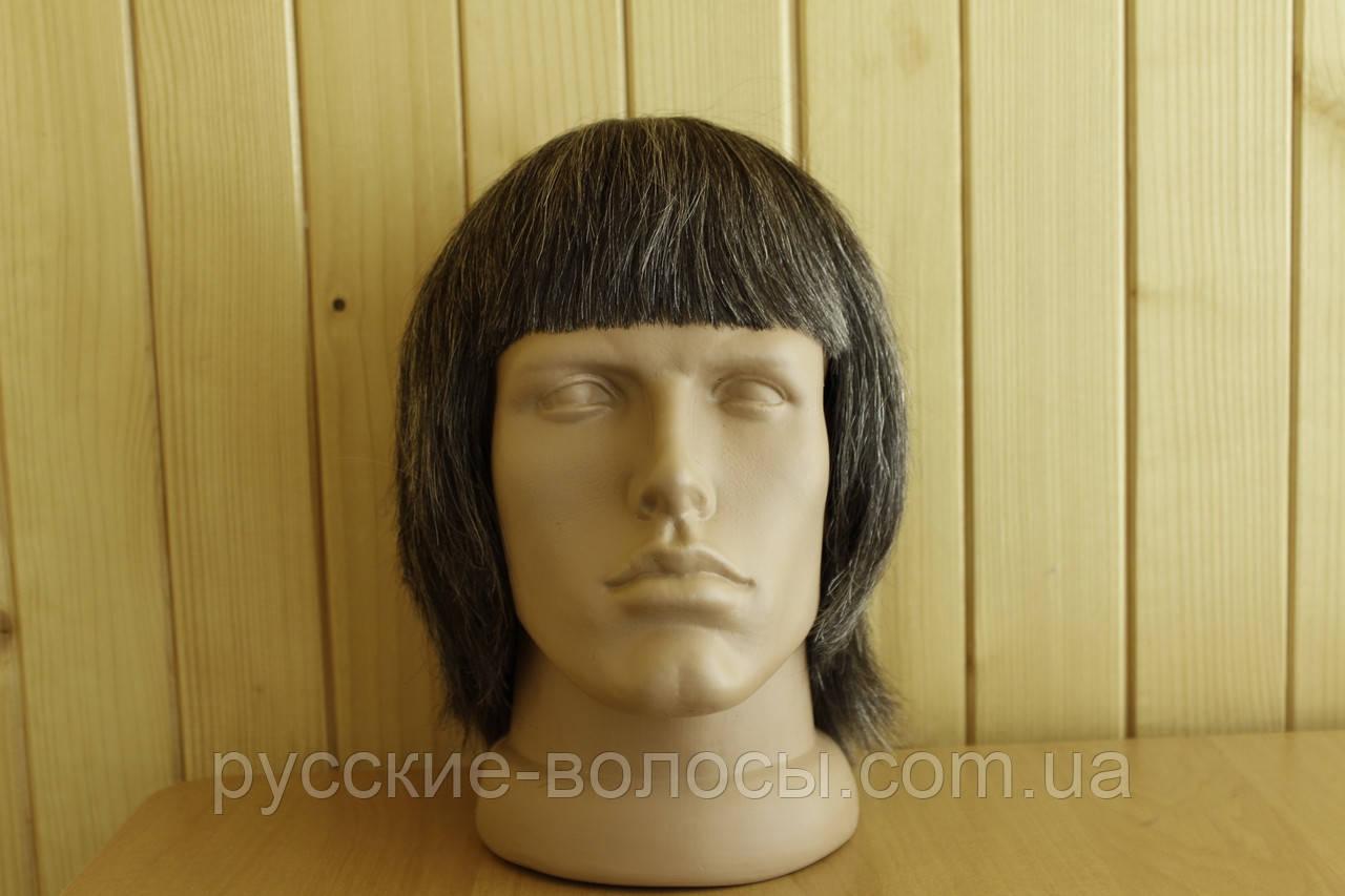 Чоловіча перука з слов'янських волосся