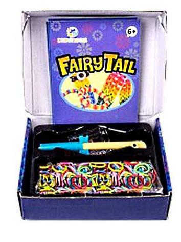 Набір резинок для плетіння в картонній коробці Fairy Tail, фото 2