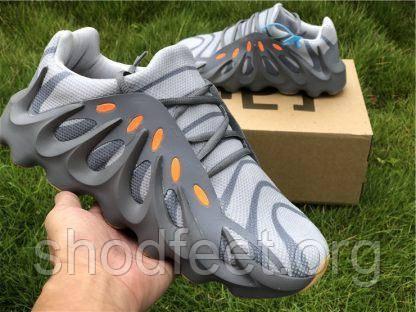 Кроссовки Adidas Yeezy Boost 451 Woolf Grey Orange