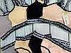 Модний комплект спортивного білизни топ з трусиками, фото 4