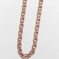 Серебряная цепочка с позолотой 10313-Залм
