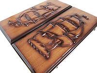 Сувенирные,резные нарды ручной работы, фото 1