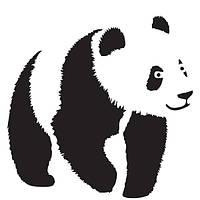Трафарет 14х20 см Панда
