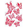 Трафарет 22х33 см Вальс бабочек