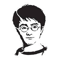 Трафарет 22х33 см Гарри Поттер