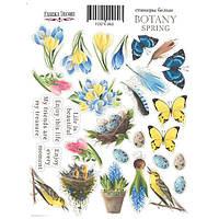 Набор наклеек для скрапбукинга Botany spring, 28 шт