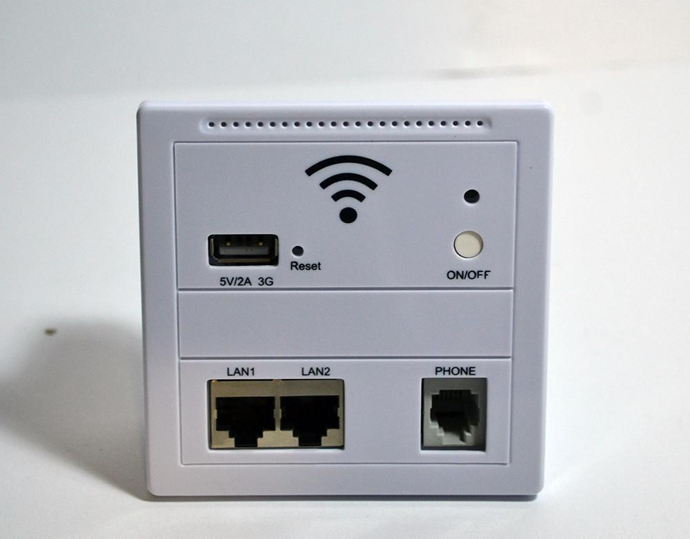 Встроенный репитер WALL AP LV-AP, сетевой маршрутизатор, USB