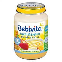Bebivita  Frucht & Joghurt: Pfirsich-Maracuja - Йогурт и фрукты: персик-маракуйя 190 г  с 10-го мес.