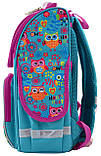 Рюкзак школьный каркасный 1 Вересня Smart PG-11 Funny owls для девочки 555930, фото 2
