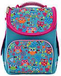 Рюкзак школьный каркасный 1 Вересня Smart PG-11 Funny owls для девочки 555930, фото 4