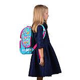 Рюкзак школьный каркасный 1 Вересня Smart PG-11 Funny owls для девочки 555930, фото 5
