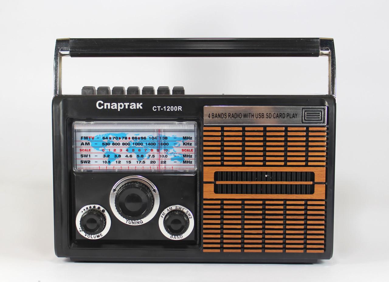 Портативное радио Спартак CT 1200 с MP3 USB и AUX