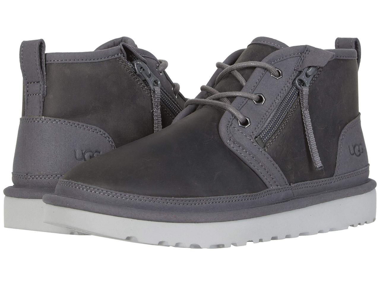 Ботинки/Сапоги (Оригинал) UGG Neumel Zip Dark Grey