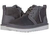 Ботинки/Сапоги (Оригинал) UGG Neumel Zip Dark Grey, фото 1