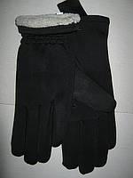 Перчатки женские ластиковые на махре
