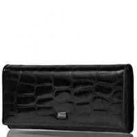Жіночий шкіряний гаманець Wanlima 50045093 Black