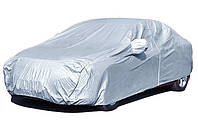 Всесезонный тент L с подкладкой на легковой автомобиль Avtoforma VIP с мешком