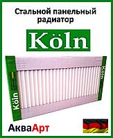 Стальной радиатор Köln 22k 500*1000 боковое подключение