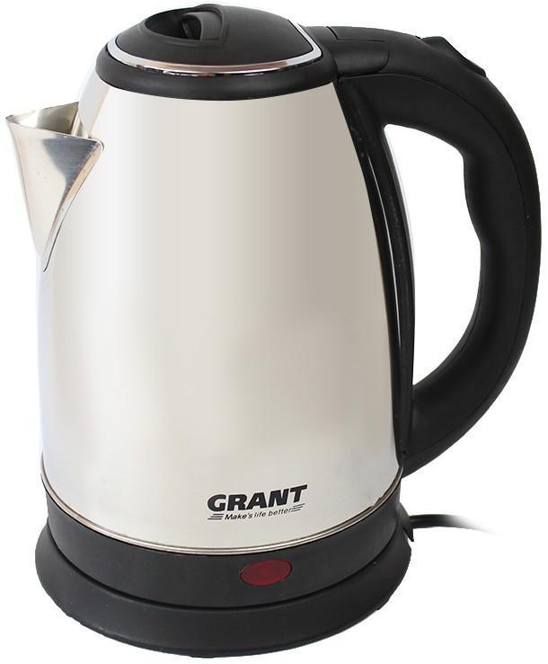 Электрочайник GRANT G0418, 2л. Хром