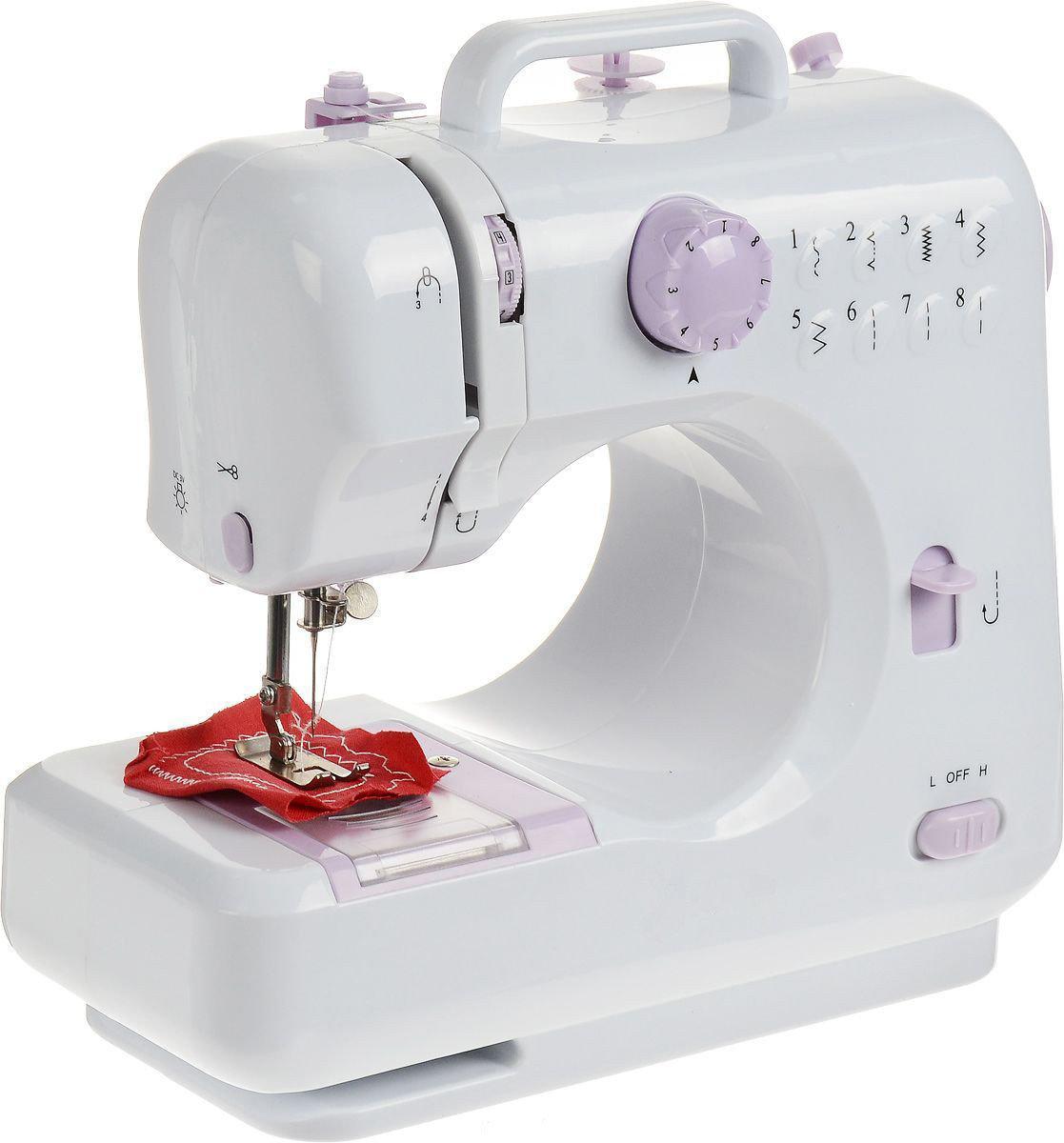Швейная машинка SEWING MACHINE 505, 8 типов строчек, Белая