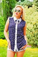 Блуза 0920 / синий