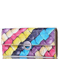Жіночий шкіряний гаманець Wanlima 31401750661y2 Multicolor