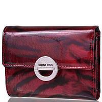 Женский кожаный кошелёк Wanlima 11044790663a2 Dark Red