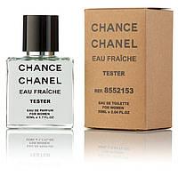 Туалетная вода женская Chanel Chance eau Fraiche 50 ml, Orign Tester, эко упаковка