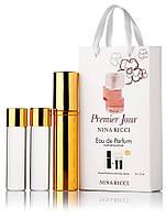 Туалетная вода женская Nina Ricci Premier Jour edt 3X15 ml, Подарочная упаковка!