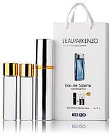Подарочный набор Kenzo L'eau Par Kenzo pour Homme edt 3X15 ml, мужская туалетная вода!