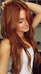 Штучні волосся на заколках. Колір #27j Світлий рудий, фото 3