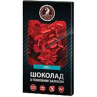 Шоколад черный Shoud'e (гемовое железо, 70% какао, 100г)