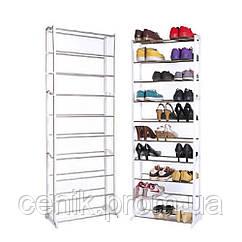 Складная подставка для обуви на 30 пар Amazing Shoe Rack