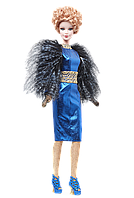Коллекционная кукла Барби Голодные игры: И вспыхнет пламя Эффи / The Hunger Games: Catching Fire Effie Doll