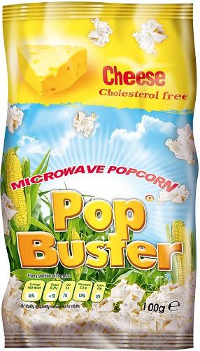 Попкорн Pop Buster со вкусом сыра 100 г
