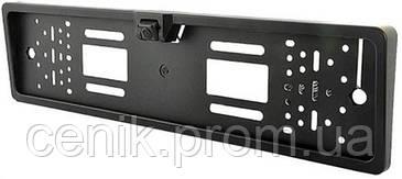 Камера заднего вида с держателем для номера  CAR PRO CAM. JX 9488A . Обзор 170 градусов