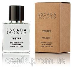Туалетная вода женская Escada Rockin Rio 50 ml, Orign Tester, эко упаковка