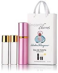Туалетная вода женская Salvatore Ferragamo Incanto Charms edt 3X15 ml, Подарочная упаковка!