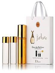 Туалетная вода женская Christian Dior J'adore edt 3X15 ml, Подарочная упаковка!