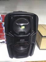Переносная аккумуляторная колонка Lige B82K + радиомикрофон