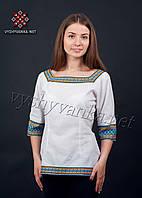 Женская блузка (вышиванка) в украинском стиле, арт. 0044