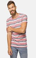 Мужская серая футболка TOM TAILOR TT 10115410010 18068
