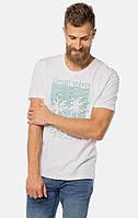 Мужская белая футболка TOM TAILOR TT 10115060010 20000