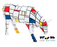 Коллекционная статуэтка корова Moondrian - wos5809