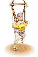 Детские прыгунки, ходунки, качели (3 в 1) с обручем., фото 1
