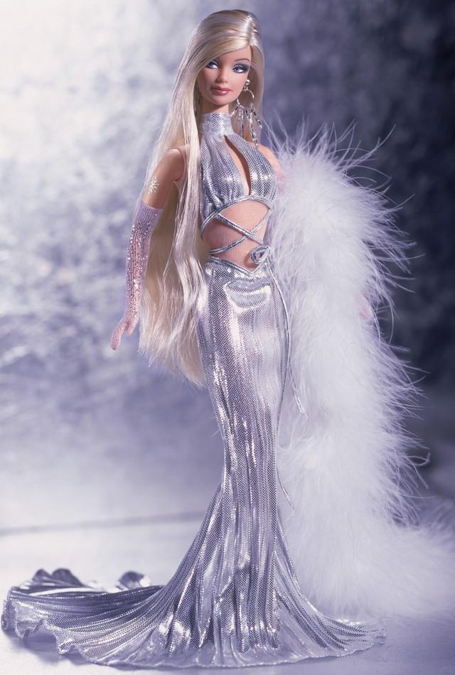Колекційна лялька Барбі Gone Platinum Barbie Doll