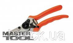 MasterTool  Секатор садовый 215 мм с обрезиненными ручками, съемное лезвие НЕРЖ, Арт.: 14-6110