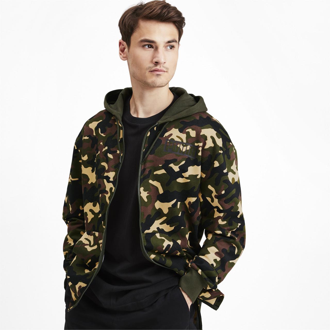 Кофта мужская Rebel Camo Men's Full Zip Fleece Hoodie
